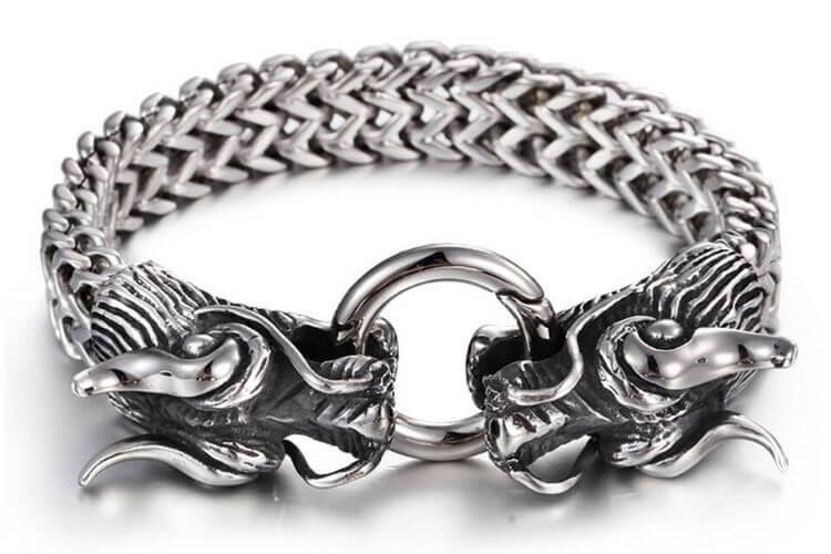 bracelet-dragon-homme-argent